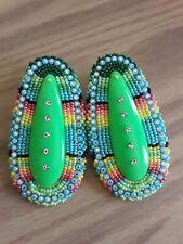 Native American Beaded Earrings Pow wow Style