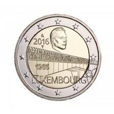 "LUXEMBURG: SPECIALE 2 EURO 2016 UNC:  ""CHARLOTTE BRUG"""