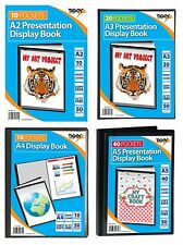 Premium Presentation DISPLAY BOOK A2 A3 A4 A5 Folder Business Portfolio{Tiger}1C