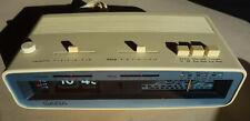 1976er SABA AUTOMATIC CLOCK H  Radio Wecker Flip Clock, works fine
