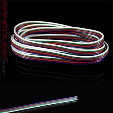 5m Meter LED RGB Stecker Verbinder Connector Kabel mit 4 Pol Pin für Strip