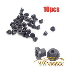 10X Exterior Plastic Body Nut Flange Clips 16131176747 For BMW E30 E32 Benz