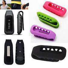 Silicone Metal Replacement Clip Belt Holder Case Cover For Fitbit One Tracker