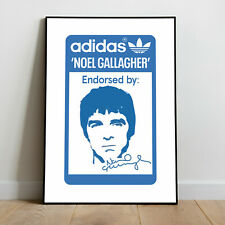 Adidas Special Endorsed by Noel Gallagher printed poster
