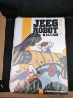 dvd film anime JEEG ROBOT D'ACCIAIO  episodi  1-2-3-4 il risveglio dei mostri