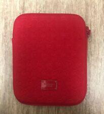 Michael Kors MK Red Neoprene Zippered iPad Case