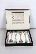 New Guo Chui Jing Ju Chinese Opera Silverware For 2 spoons 2 forks 2 chopsticks