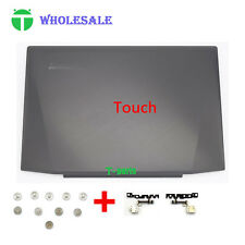 New Lenovo Ideapad Y50 Y50-70 Back Cover + LCD Hinges +screws Touch  AM14R000300