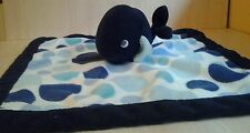 Carter's Whale Baby Security Blanket Plush 14""
