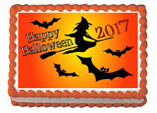 Happy Halloween party Premium Frosting Sheet Edible Cake Topper