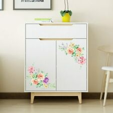 Wall Stickers Peony Flowers Art Home Décor Wallpaper Removable Vinyl Diy Decals