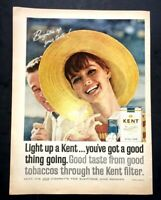 Life Magazine Ad KENT Cigarettes 1965 AD