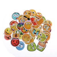 50PCS emoji stickers toys for kids cartoon emoticon smile face decor stickersKP