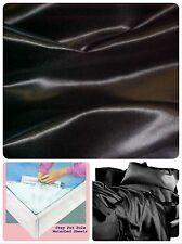 2 PACK COMBO - KING Size waterbed Sheet set - Premium Bridal Satin FREE POLES