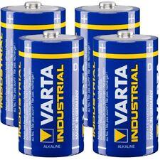4x Mono D LR20 MN1300 VARTA Alkaline Batterie 4020 Industrial Batterien