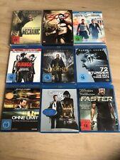 Filmesammlung Action - 9 Filme - DVD - Blu-ray