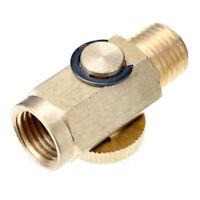 Stecker Bajonett Adapter Hochdruckreiniger Messing Schwarz Nützlich Neu Heiß