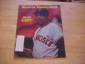 SAY HEY 3,000! Willie Mays San Fran Giants   July 27, 1970 Sports Illustrated