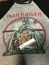 1985 IRON MAIDEN CHICAGO CONCERT TOUR T SHIRT Metallica Slayer AUTHENTIC
