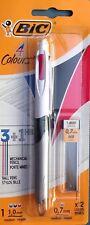 OFFER Buy 2 Get 3rd BIC 4 Colours (3 1hb) Ballpen Pencil Combi Pen
