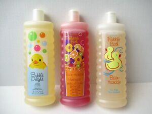 Avon Bubble Bath 24 Oz Bain Mousse Jumbo Sealed Bottle For Kids Rare Scents