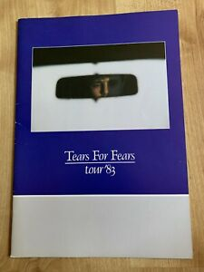 Tears For Fears -  Original Tour Programme 1983 The Hurting