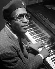 1947 Jazz Artist THELONIOUS MONK Glossy 8x10 Photo Glossy Print Pianist Poster