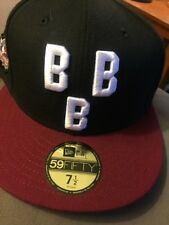 New Era Birmingham Black Barons Hat Cap Fitted Negro League  7 1/2 BBB 59FIFTY