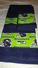 Seattle Seahawks 3 Piece Bath Towel Set Handmade GREAT GIFT!!