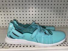 Merrell Atlantis Womens Leather Athletic Slip On Walking Shoes Size 8.5 Blue
