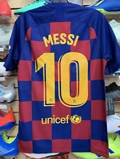 Nike Barcelona MESSI 10 Home Jersey 19/20 Size Large