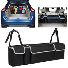 1pc Car Back Seat Trunk Storage Bag Organizer Pocket High Capacity multiple uses