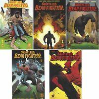 Shirtless Bear-Fighter Set Jody LeHeup Girner Andrew Robinson 1 2 3 4 5 1st NM