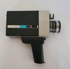Vintage Keystone Electric Super  8 W/ Reflex Zoom  K-614 Movie Camera (untested)