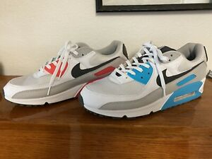 Size 13 - Nike Air Max 90 Retro Laser Blue and Pink