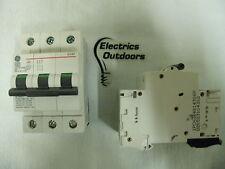 GENERAL ELECTRIC 20 AMP TYPE D 10 kA TRIPLE POLE MCB CIRCUIT BREAKER G103 675074