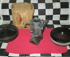 NOS Johnson Marvel Schebler Carburetor 1934-42 Ford V8 85HP Flathead Car Truck
