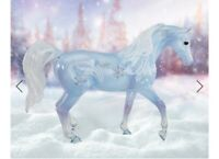 Breyer Horse 2020 Christof Winter Decorator Classic Limited Edition Clearware