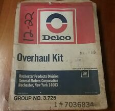 OMC Stern Drive Carburetor Overhaul Kit NOS 384743  PB 1