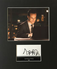 ANDREW SCOTT AUTHENTIC SIGNED CARD MOUNTED SPECTRE JAMES BOND AFTAL UACC [11188]