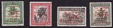 Ruanda Urundi - 150/153 - Croix Rouge - 1944 - MNH