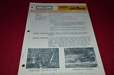 Rome Caterpillar Tree Harvesting Job Report Dealers Brochure BWPA