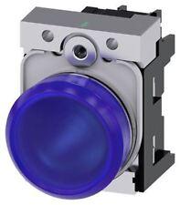 Indicador LED azul Siemens SIRIUS acto, 22 mm recorte, IP20, IP66, IP67, IP69, IP69
