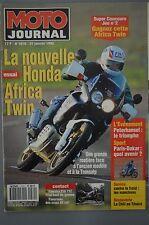 MOTO JOURNAL 1070 KAWASAKI KX 80 HONDA XRV 750 Africa Twin YAMAHA TYZ 250 DAKAR