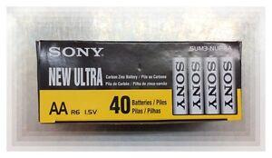 Sony New Ultra AA Batteries (1box 40pcs)