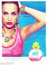 PUBLICITE ADVERTISING 086  2012  Reminiscence parfum femme Crazy rem