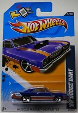 Hot Wheels - '68 Dodge Dart Blue - Muscle Mania, Mopar 12 - 1/10 ~ 81/247
