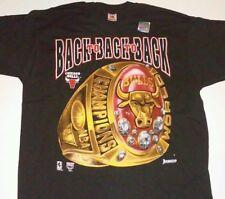 Chicago Bulls Vintage Shirt Mens XL NBA Champions 93 Finals Jordan Pippen NWOT