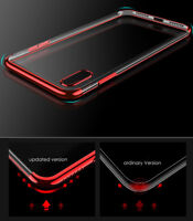 Ultra Thin Soft TUP Phone Cover Case Back Skin For IPhone 6 6S 7 8 PLUS X XS XR