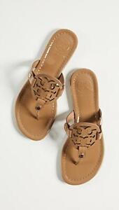 GORGEOUS Tory Burch 'Miller' Tan Patent Leather Thong Sandal SZ. 9 M